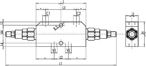 Тормозные Подпорные клапана VBCD DE/A, SE, SE/A, SE/A FLV, WBCDELU