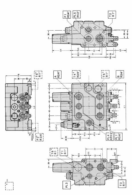 чертежи гидрораспределители rm316