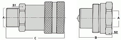 Быстроразъемные соединения брс hpa serie j